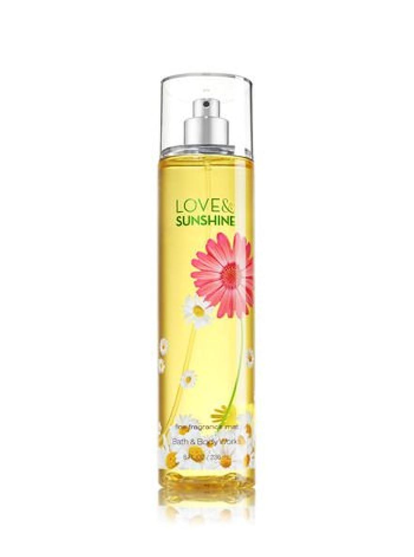 租界なだめる爵【Bath&Body Works/バス&ボディワークス】 ファインフレグランスミスト ラブ&サンシャイン Fine Fragrance Mist Love & Sunshine 8oz (236ml) [並行輸入品]