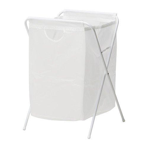RoomClip商品情報 - IKEA(イケア) J?LL ランドリーバッグ スタンド付き, ホワイト (10171826)