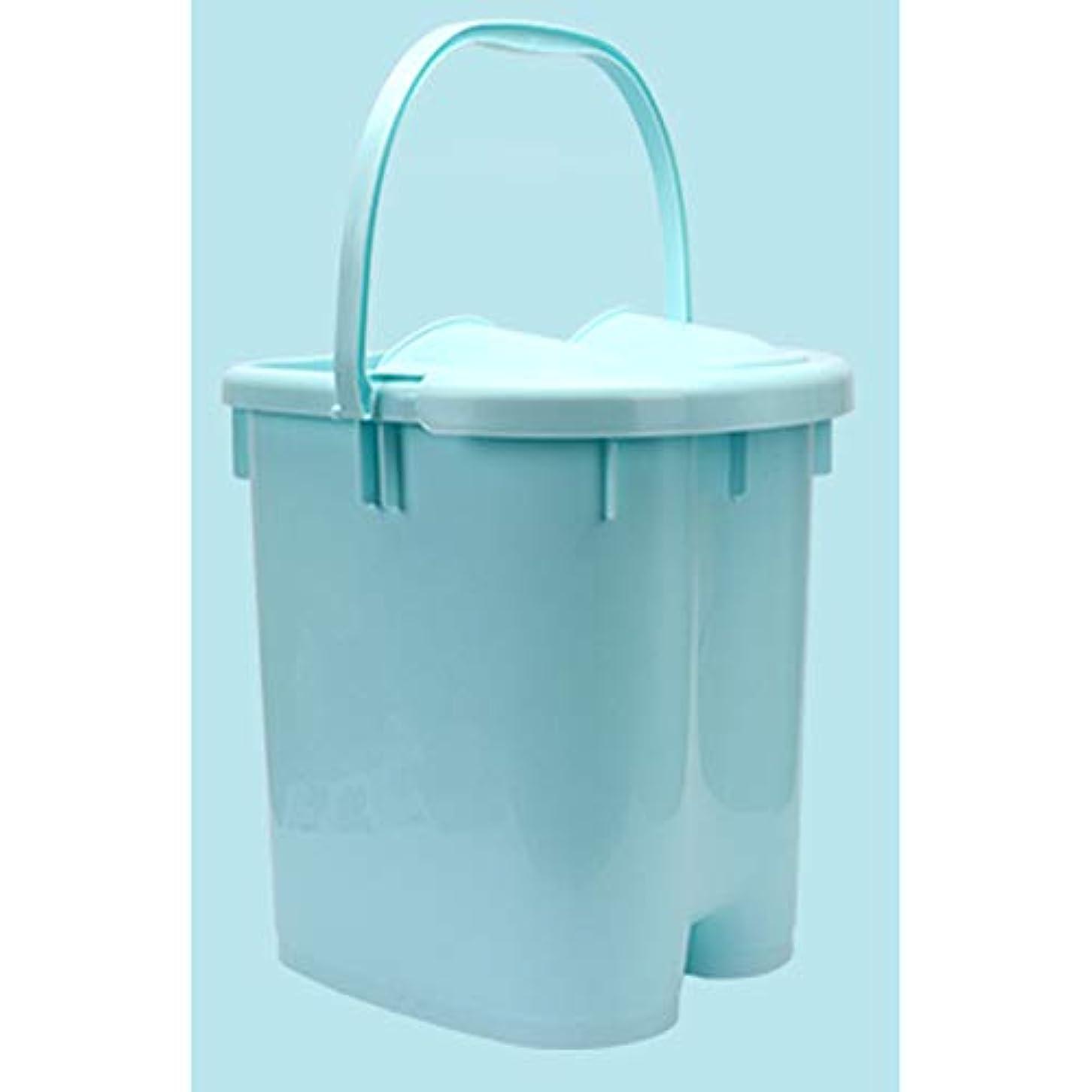 避けるしたい飢えたAkagi 足湯 フットバス 保温フットバス バブルフットバス マッサージ 温水洗濯機 頭寒足熱対策 リラックス