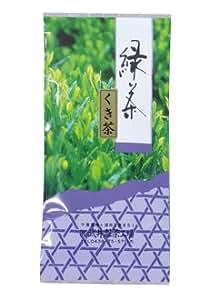 茶のたけい 特上深蒸し緑茶 自然栽培くき茶 100g