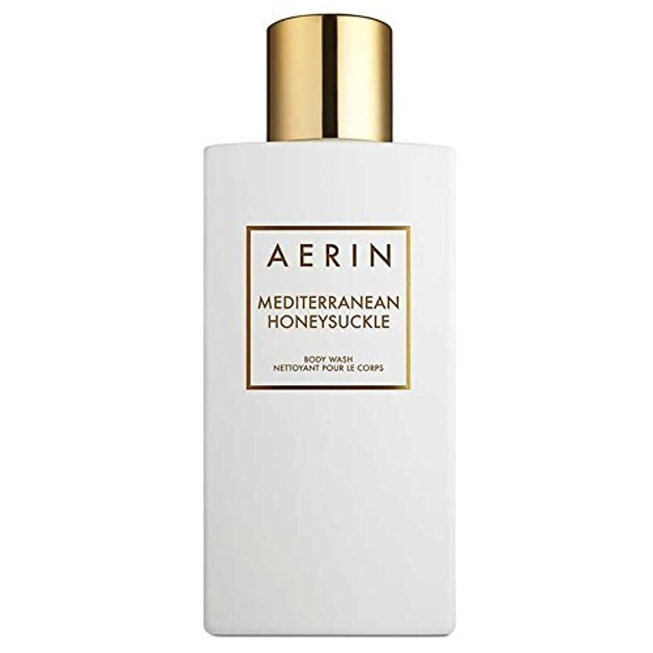 誇り移行作曲するAERIN Mediterranean Honeysuckle (アエリン メディタレーニアン ハニーサックル) 7.6 oz (228ml) Body Wash ボディーウオッシュ by Estee Lauder for Women