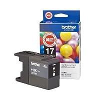 【純正品】 ブラザー工業(BROTHER) インクカートリッジ 色:ブラック大容量 型番:LC17BK 単位:1個