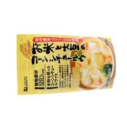創健社 お米と大豆のコーンシチュールウ 135g×3個         JAN:4901735020829