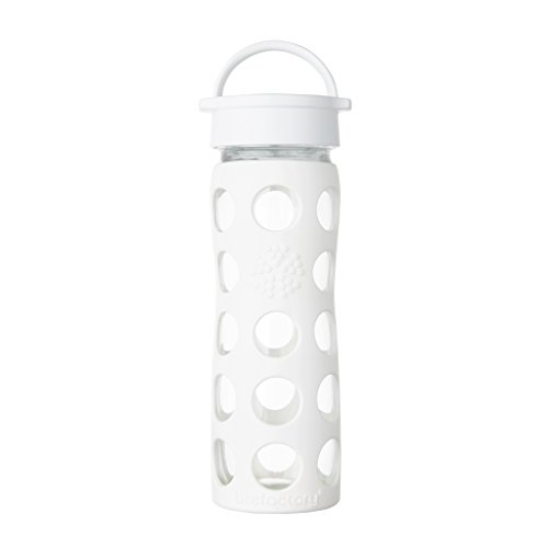 [해외]Lifefactory 12 온스 BPA 무료 유리 물병 Leakproof 캡 and 실리콘 슬리브/Lifefactory 12 oz BPA free glass water bottle Leakproof cap and silicone sleeve