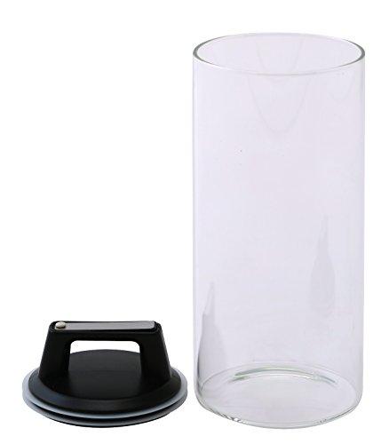密閉 ガラス キャニスター 保存容器 エア・リデューサー L 2000cc