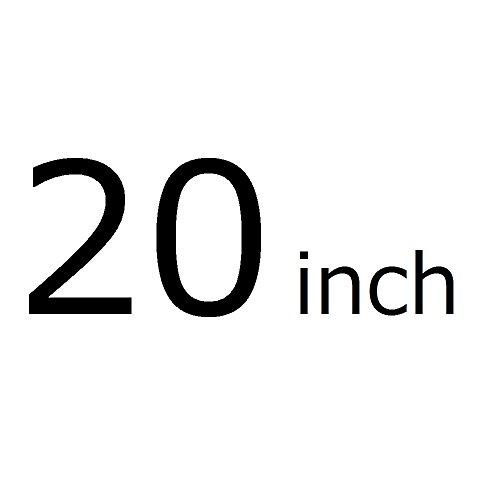 Oche 透明 スーツケースカバー 携帯 キャリー バッグ かばん ラゲッジ クリア ビニール カバー 雨 防水 (20インチ)