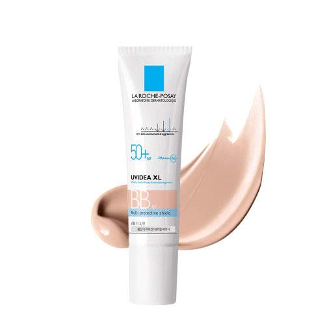 敵対的砂漠入るLa Roche-Posay ラロッシュポゼ UVイデア XL プロテクションBB(01ライト) Uvidea XL BB Cream - #01 (30ml) SPF50+ PA++++