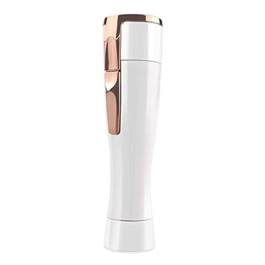 フェイスシェーバーミニ、USB充電式電気毛の除去剤 レディースシェーバー 脱毛器 顔用 女性用 顔剃り顔レディーストリマー 持ち運び便利 あご、上唇、頬、腕および足のため
