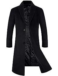 メンズ コート チェスターコート 50-80%ウール 中綿入り 暖かい ロング丈 通勤 紳士服 冬コート オシャレ ビジネスコート