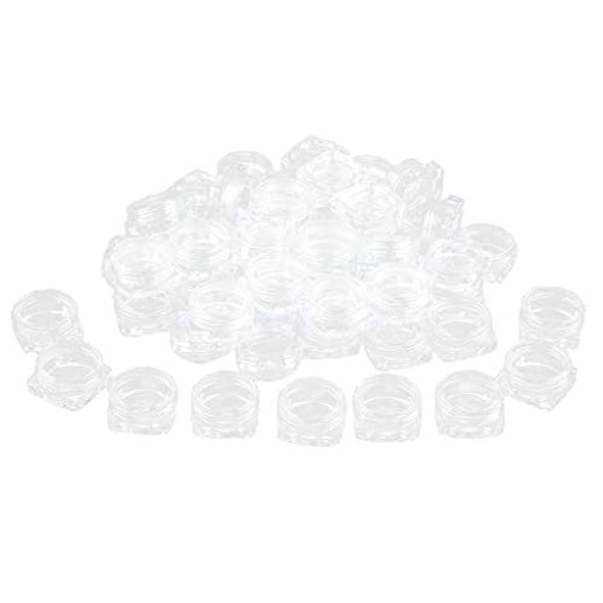 スピリチュアル清めるピクニックPerfeclan 約50個 化粧品ジャー 蓋付き 化粧ポット ローションジャー クリーム容器 サンプルボトル - 5g