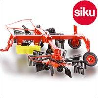 <ボーネルンド> Siku(ジク)社 輸入ミニカー 2451 ファーマー回転式まぐわ 1/32スケールトラクター専用パーツ