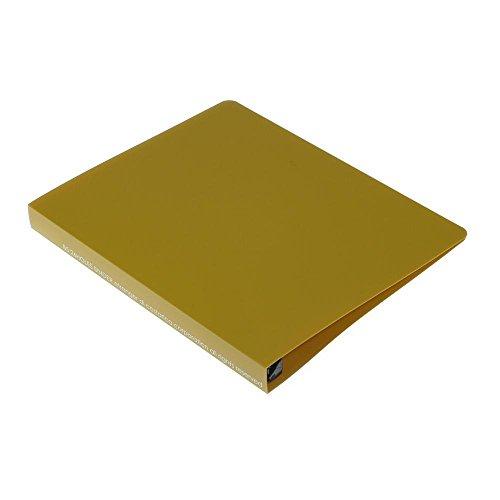 B5バインダー[SOLID]マスタード SLDー03ー13 3冊