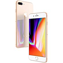 Apple iPhone 8 Plus Gold 64GB SIM-Free Smartphone (Renewed)