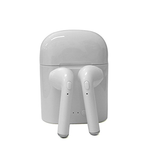 Bluetooth Headphone,Bluetooth イヤホン,ブルートゥース ヘッドセット,スポーツ 防水 音楽 ヘッドホン ワイヤレス イヤホン マイク 小型 軽量 iPhone、Android各種対応,白