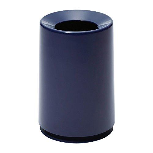 イデアコ ゴミ箱 チューブラー ネイビー 6L