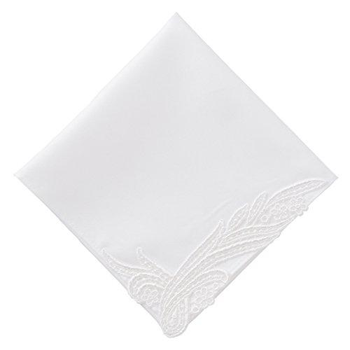 (ハグ ハンカチーフ)hugge handkerchief ハンカチ 白 レディース ( ノーブル) ギフト ブライダル 結婚式 ウェディング