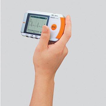 オムロン 携帯型心電計 HCG-801