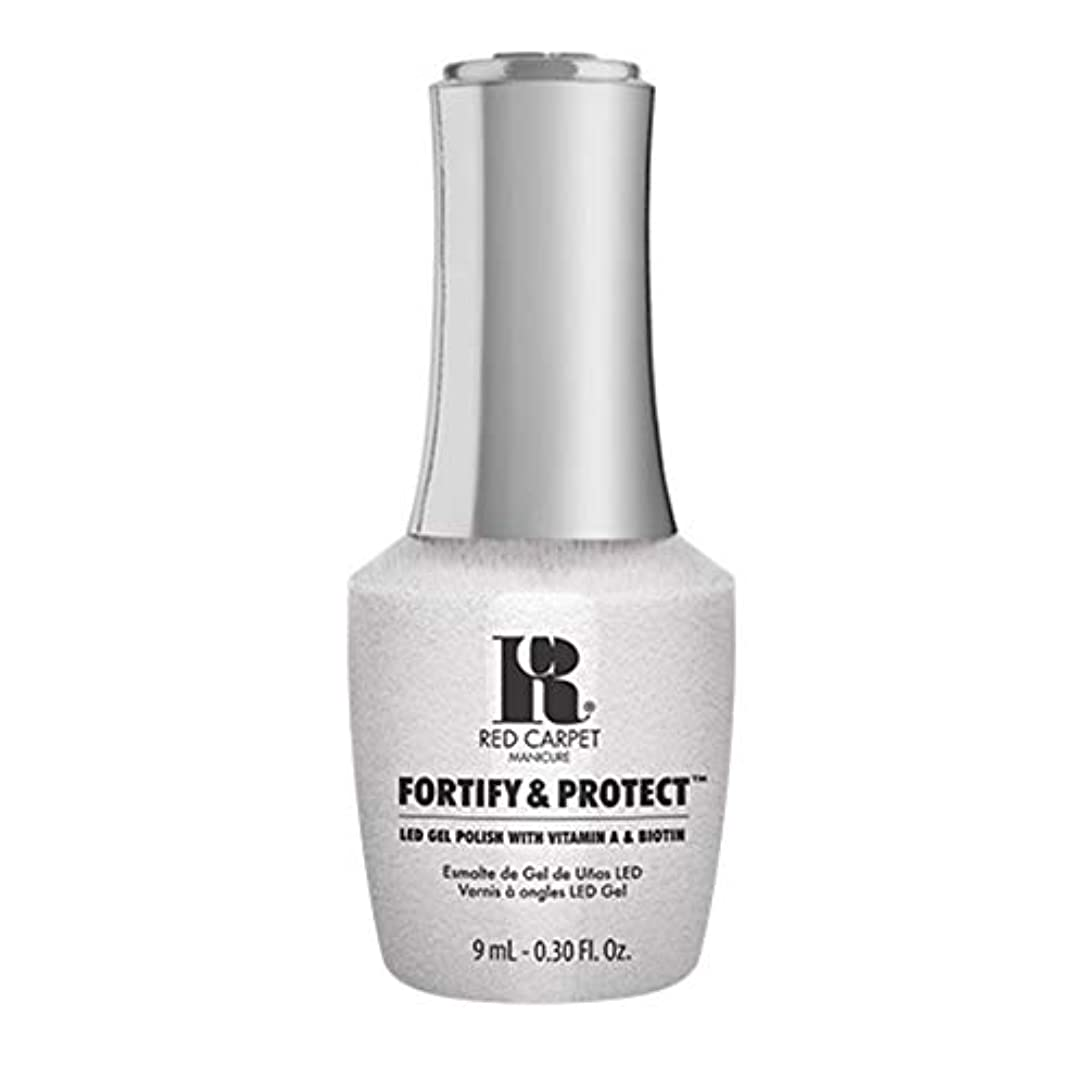 将来の補償特にRed Carpet Manicure - Fortify & Protect - Co-Starring Color - 9ml / 0.30oz