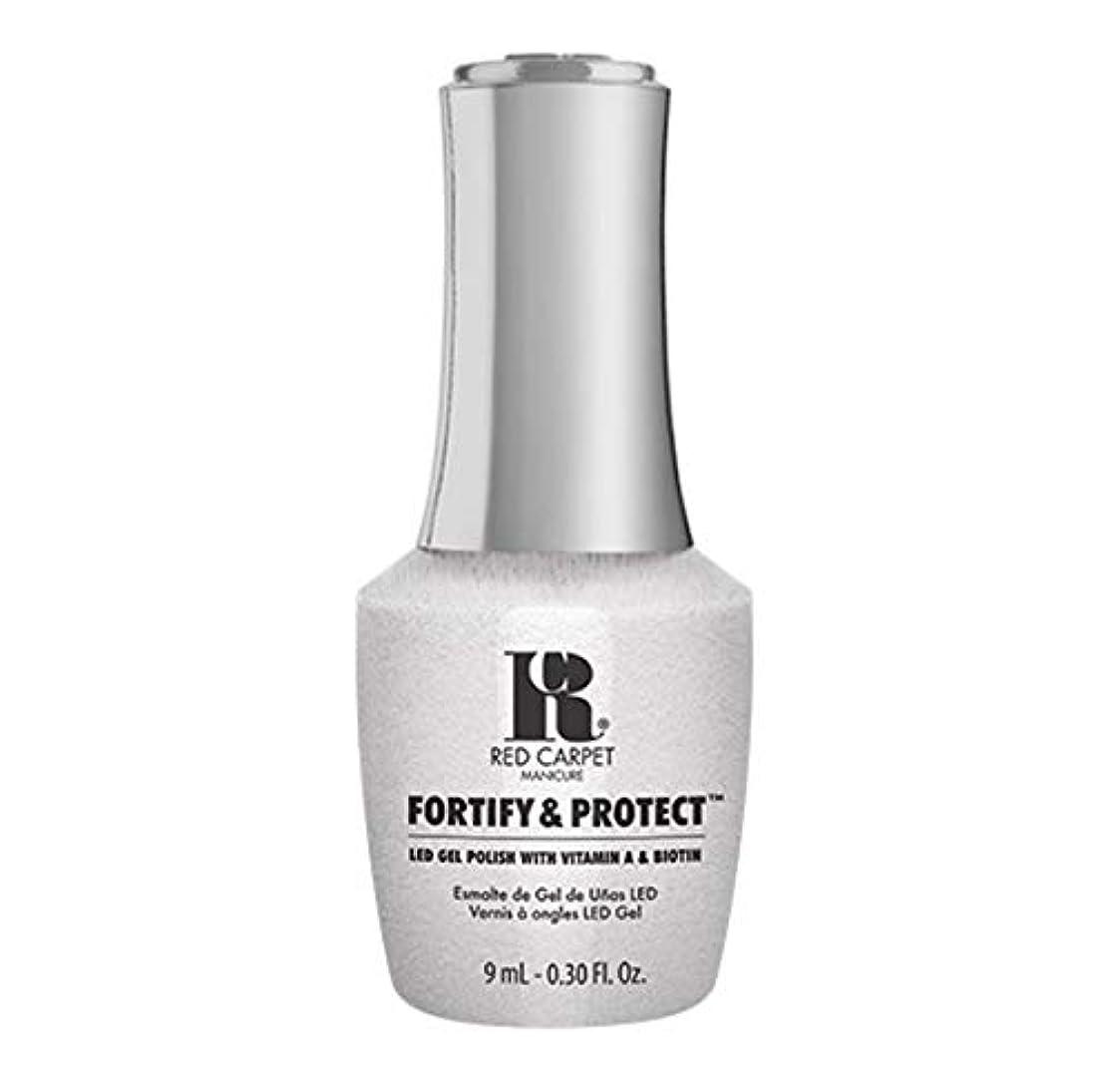 後退するどうやって興奮するRed Carpet Manicure - Fortify & Protect - Co-Starring Color - 9ml / 0.30oz