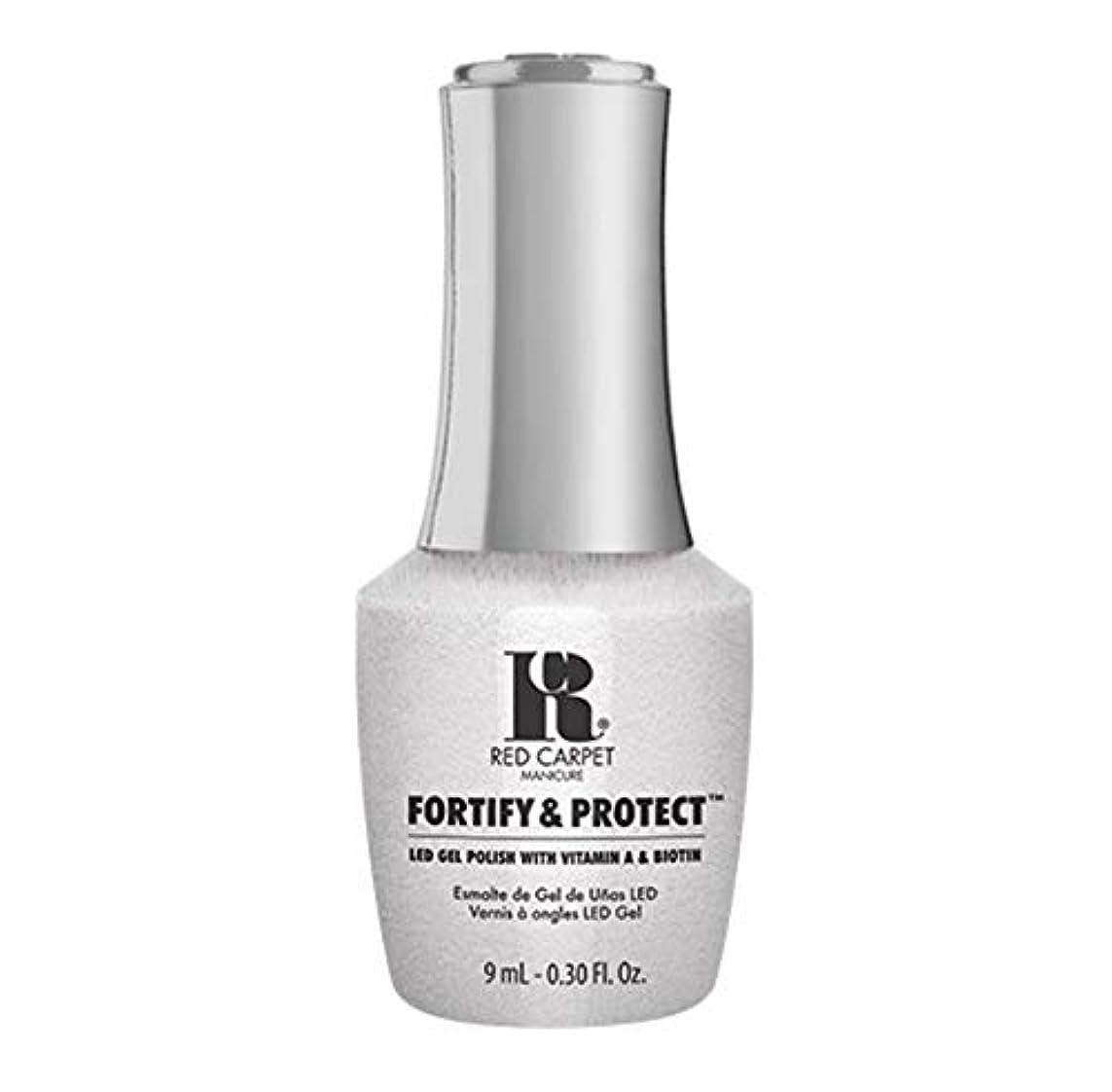 形成シェードエスカレートRed Carpet Manicure - Fortify & Protect - Co-Starring Color - 9ml / 0.30oz