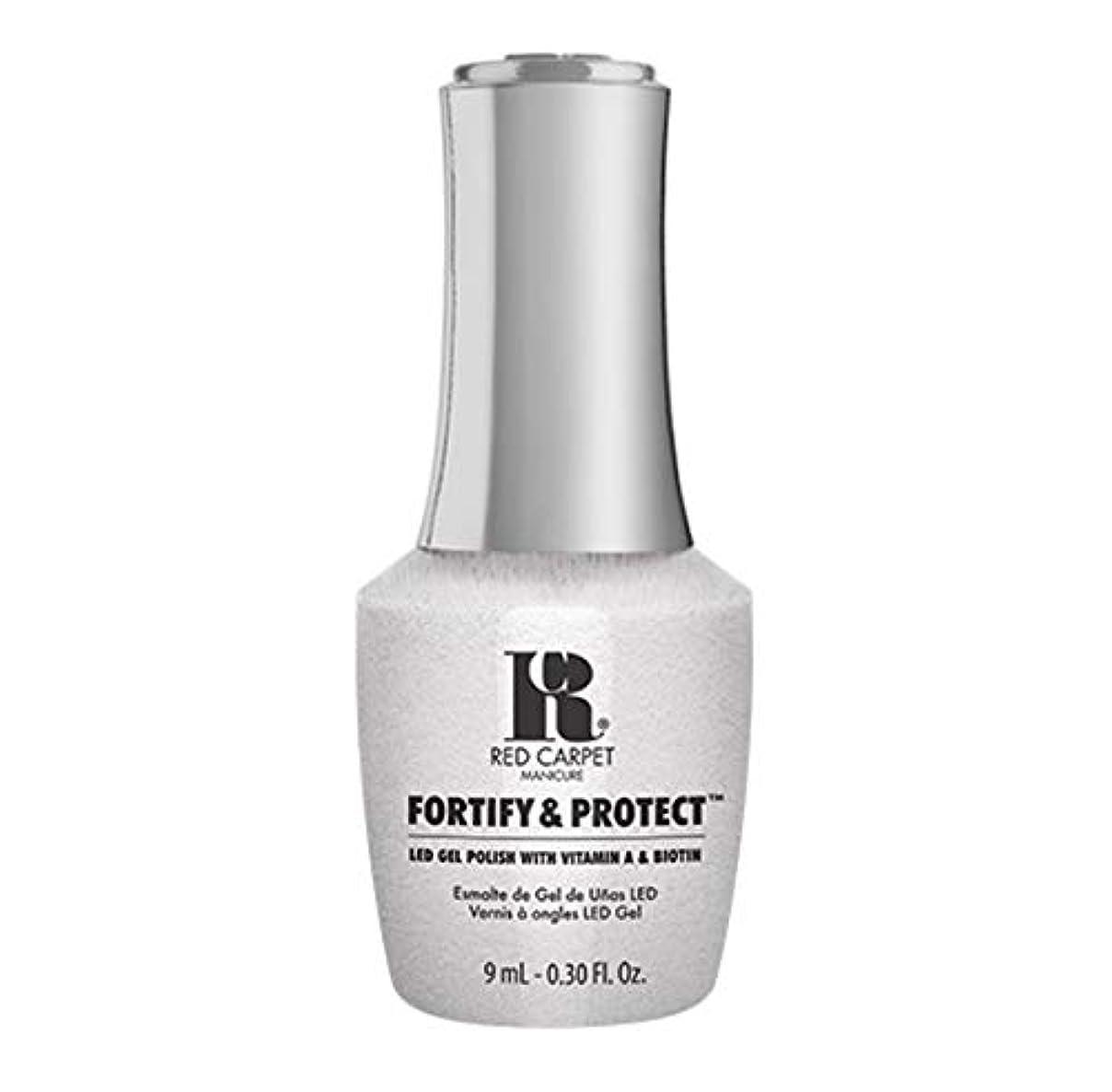 制限終わらせる好意Red Carpet Manicure - Fortify & Protect - Co-Starring Color - 9ml / 0.30oz