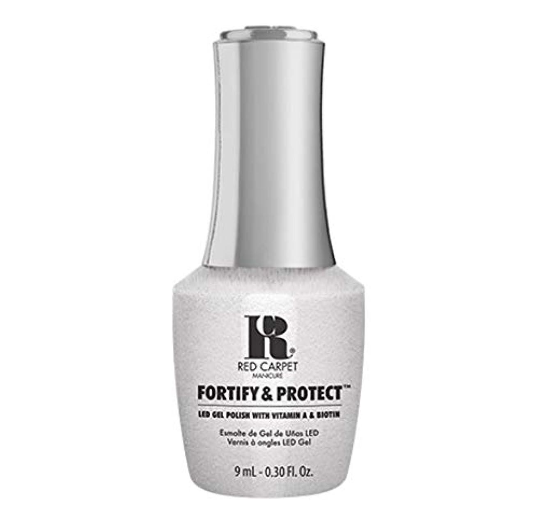 どうやって空白うれしいRed Carpet Manicure - Fortify & Protect - Co-Starring Color - 9ml / 0.30oz