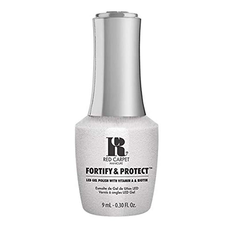 ねじれカセット夕食を食べるRed Carpet Manicure - Fortify & Protect - Co-Starring Color - 9ml / 0.30oz