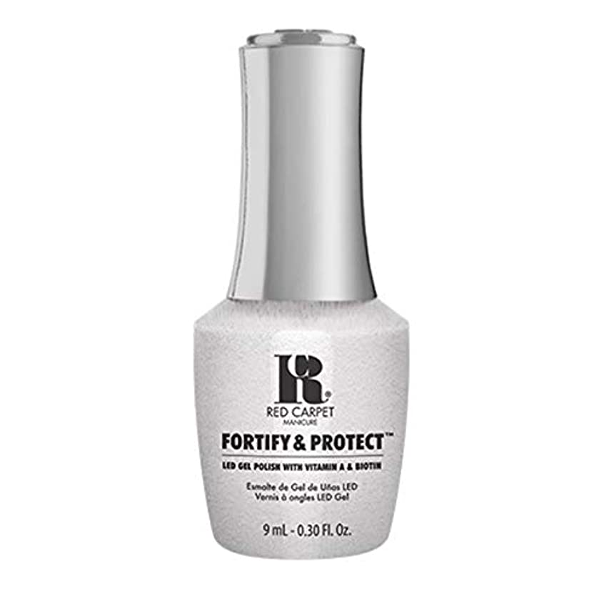 緊張する空気該当するRed Carpet Manicure - Fortify & Protect - Co-Starring Color - 9ml / 0.30oz