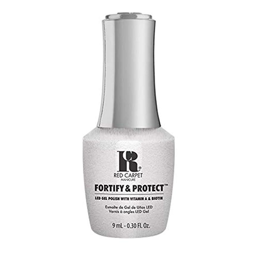 流行している小間早熟Red Carpet Manicure - Fortify & Protect - Co-Starring Color - 9ml / 0.30oz