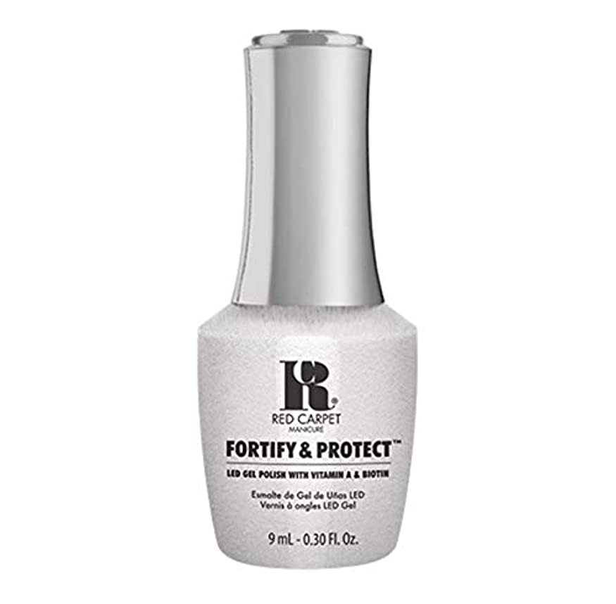 ヘッジセットアップ洞窟Red Carpet Manicure - Fortify & Protect - Co-Starring Color - 9ml / 0.30oz