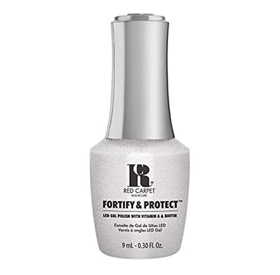 教育バックグラウンド腸Red Carpet Manicure - Fortify & Protect - Co-Starring Color - 9ml / 0.30oz