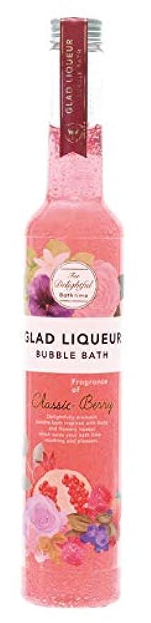 含意プレミアワイドノルコーポレーション バスジェル グラッドリキュールバブルバス GLR-2-3 入浴剤 クラシックベリーの香り 500ml