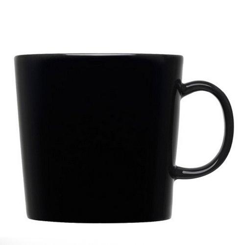 【正規輸入品】iittala (イッタラ) Teema (ティーマ) マグ ブラック 0.4L