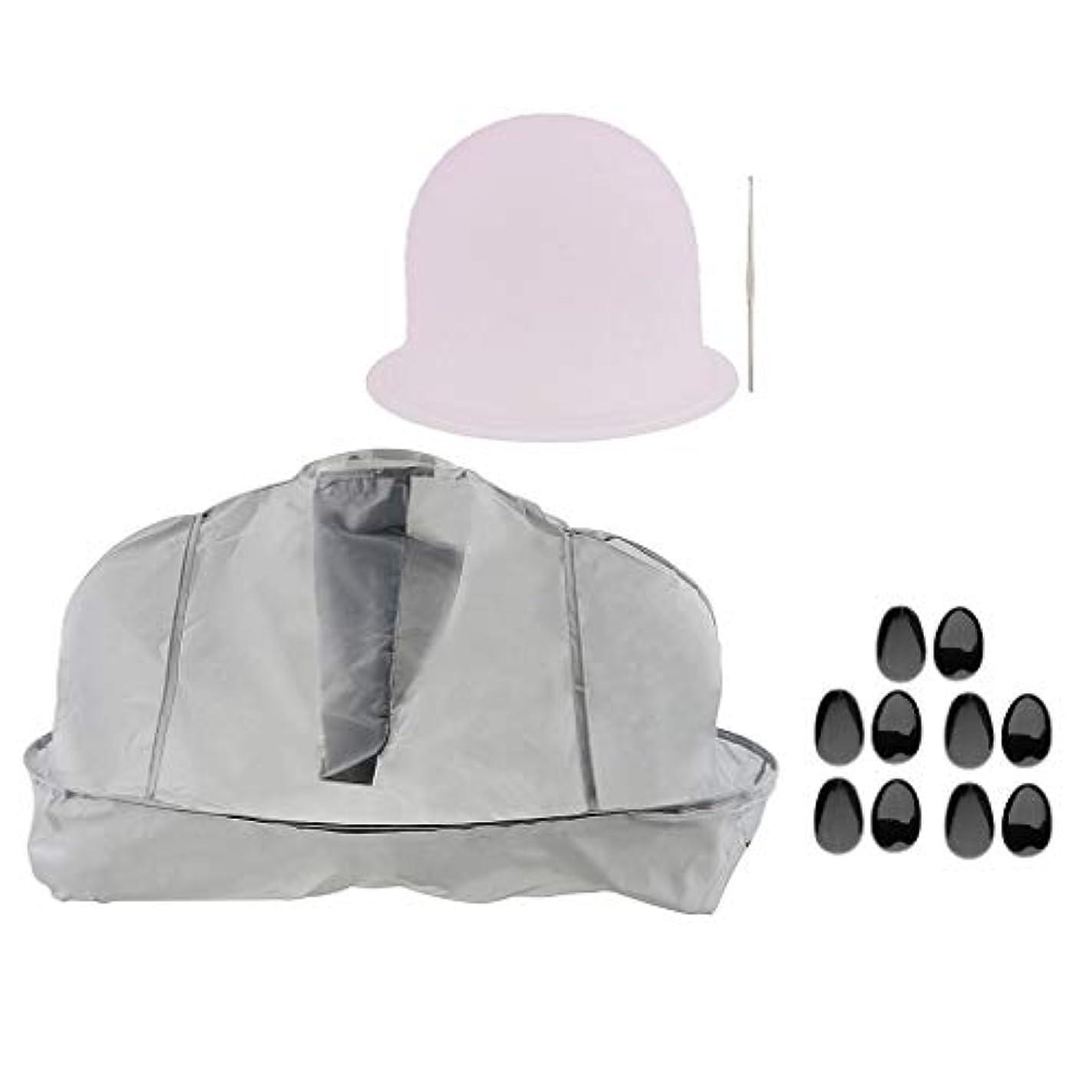バンド依存以内にヘアサロン 美容院 ヘアカラー 色付け 帽子 キャップ 耳のカバー 美容ケープ