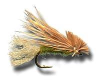 x-caddis–オリーブフライ釣りフライ