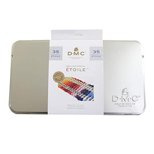 DMC(ディー・エム・シー)『ETOILE(エトワール)刺しゅう糸ボックス缶セット35色』