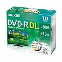 パソコン ドライブ DVDメディア maxell DRD215WPE10S 8倍速対応DVD-R DL 215分 10枚パック -ak [簡易パッケージ品]