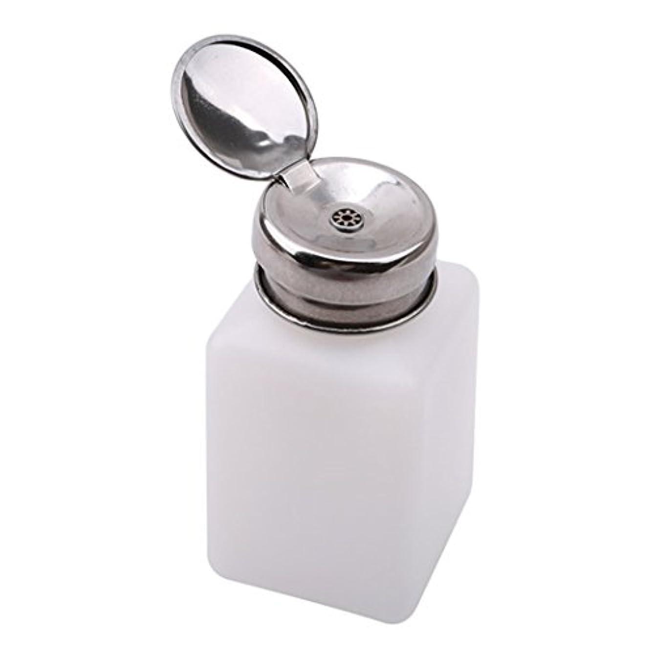 ゴミ箱間違いなく絵PINKING ポンプディスペンサー ネイル リットル空ポンプ ネイルクリーナーボトル 200ml
