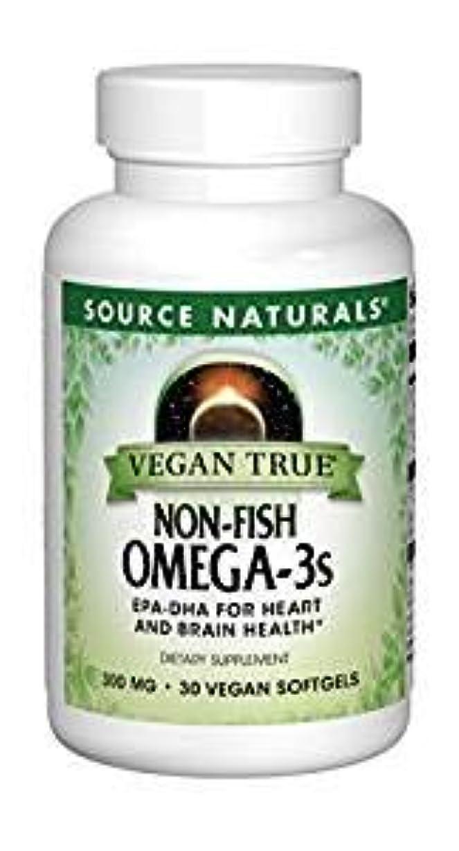 麻痺船形唇3個セット ビーガントゥルー オメガ3(植物由来EPA/DHA)フィッシュフリー 300mg 30粒[海外直送品]