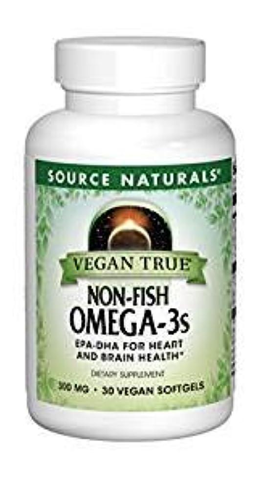 品とても多くのスプーン3個セット ビーガントゥルー オメガ3(植物由来EPA/DHA)フィッシュフリー 300mg 30粒[海外直送品]