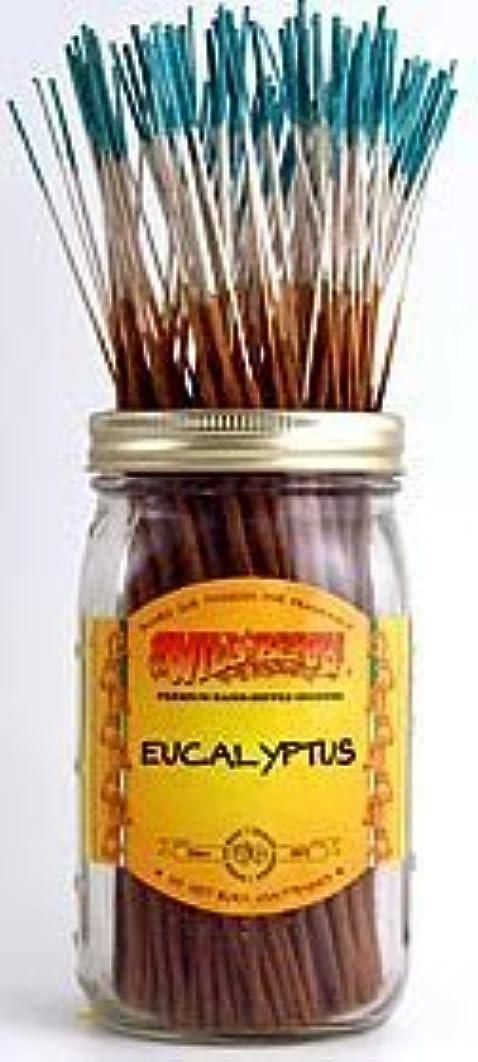 カウボーイ想定プラカードEucalyptus - 100 Wildberry Incense Sticks [並行輸入品]