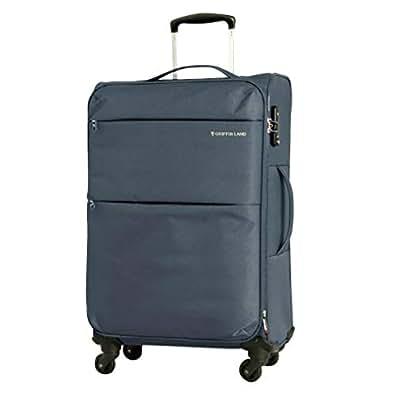 S型 グレー / AIR6327(solite)機内持ち込み可 ソフト スーツケース キャリーバッグ TSAロック搭載 超軽量