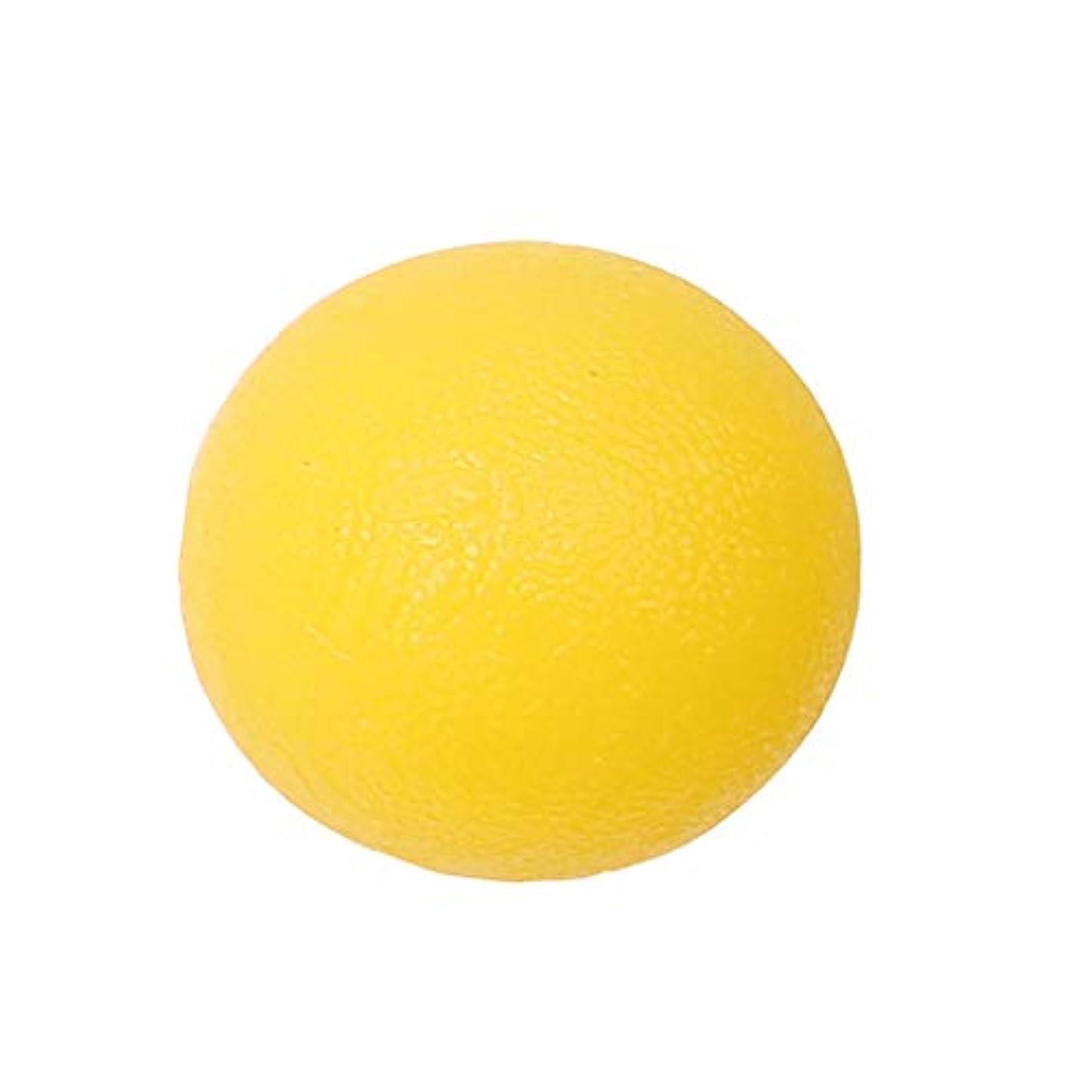 大腿ワーム暗唱するdailymall ポータブルシリコンハンドマッサージボールジョイントの痛みとグリップホームオフィスの強化 - 黄, 5cm