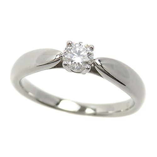 ティファニー ハーモニー リング レディース ダイヤモンド Pt950 7号 0.19ct 3.6g Tiffany&Co. tifffany&co. プラチナ 指輪