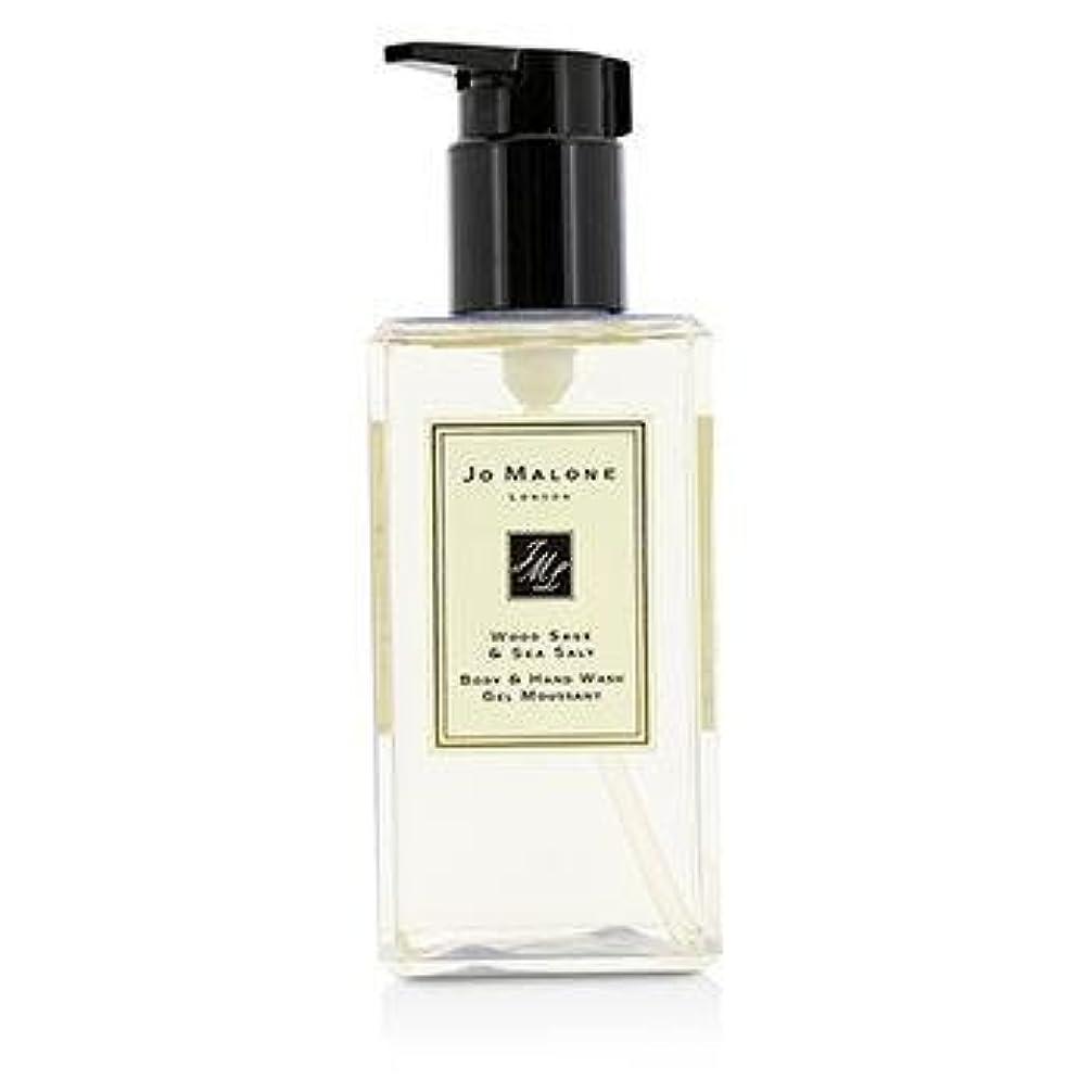 オーバーフロー第三クリスマスジョーマローン Wood Sage & Sea Salt Body & Hand Wash (With Pump) 250ml/8.5oz並行輸入品