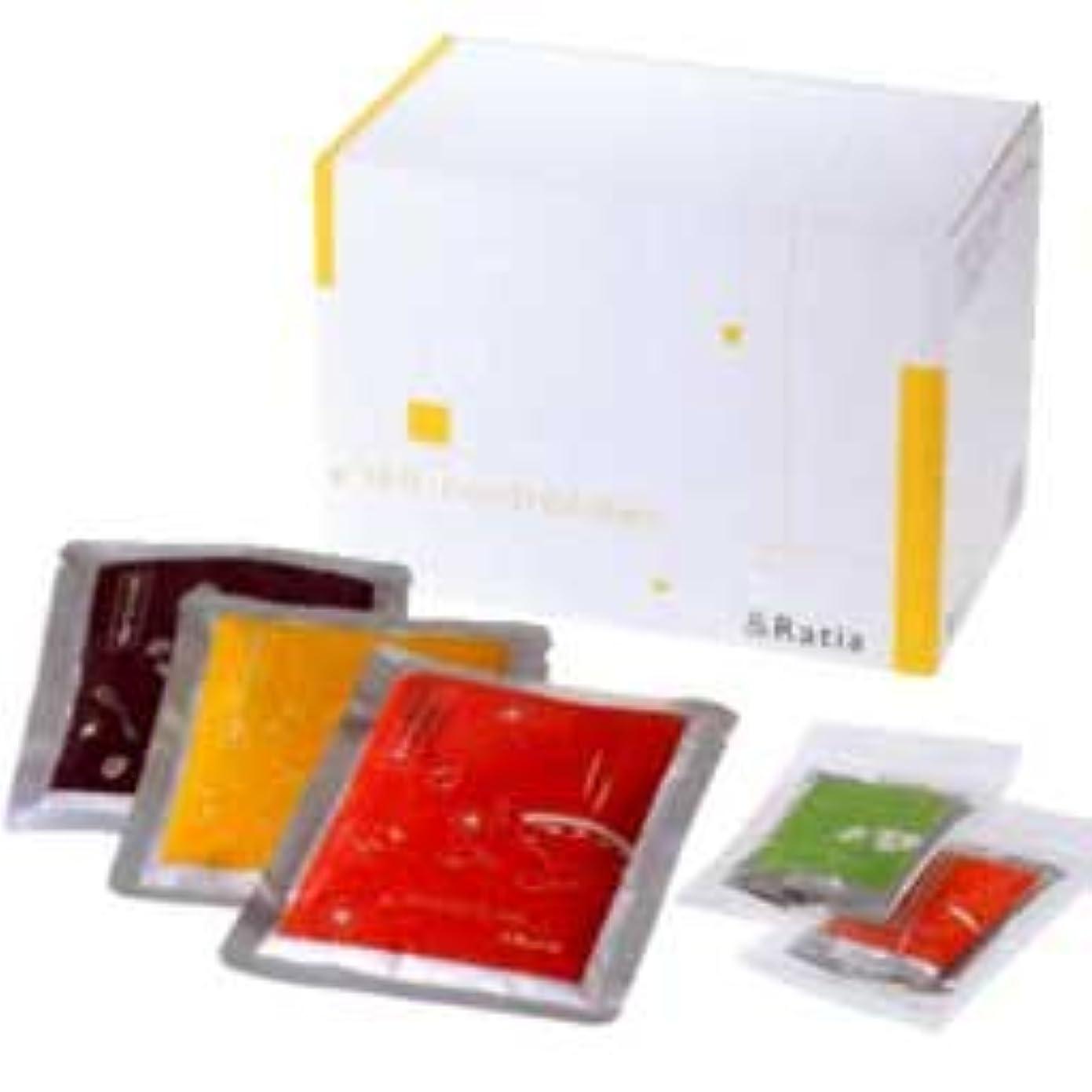 彼らのもの補償注入する&Ratia セルフコントロールダイエット お粥3種14袋+スパイス2種14包