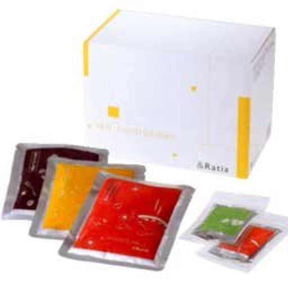 役に立たない湿気の多いレンズ&Ratia セルフコントロールダイエット お粥3種14袋+スパイス2種14包