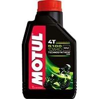 MOTUL(モチュール) 5100 4T 10W40 バイク用化学合成オイル 1L[正規品] 112…