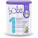 Bubs Advanced Plus+ Stage 1 Goat Milk Infant Formula, 800 g