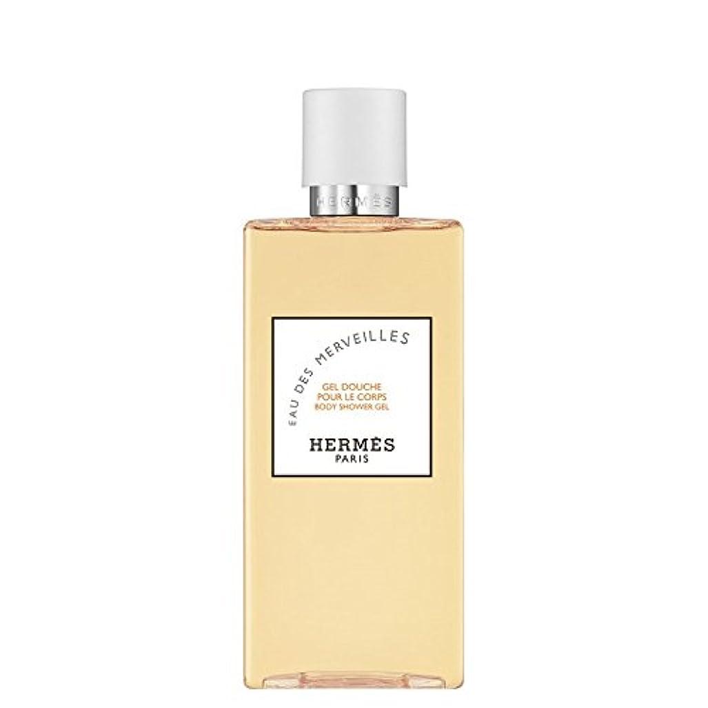 魔術師み晴れエルメス Eau des Merveilles Body Shower Gel (New Packaging) 200ml